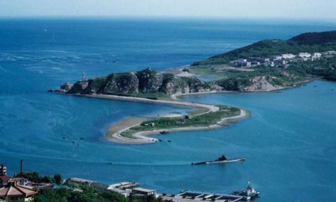 Dalian lushun xiaoarc mountain reclaimed water plant