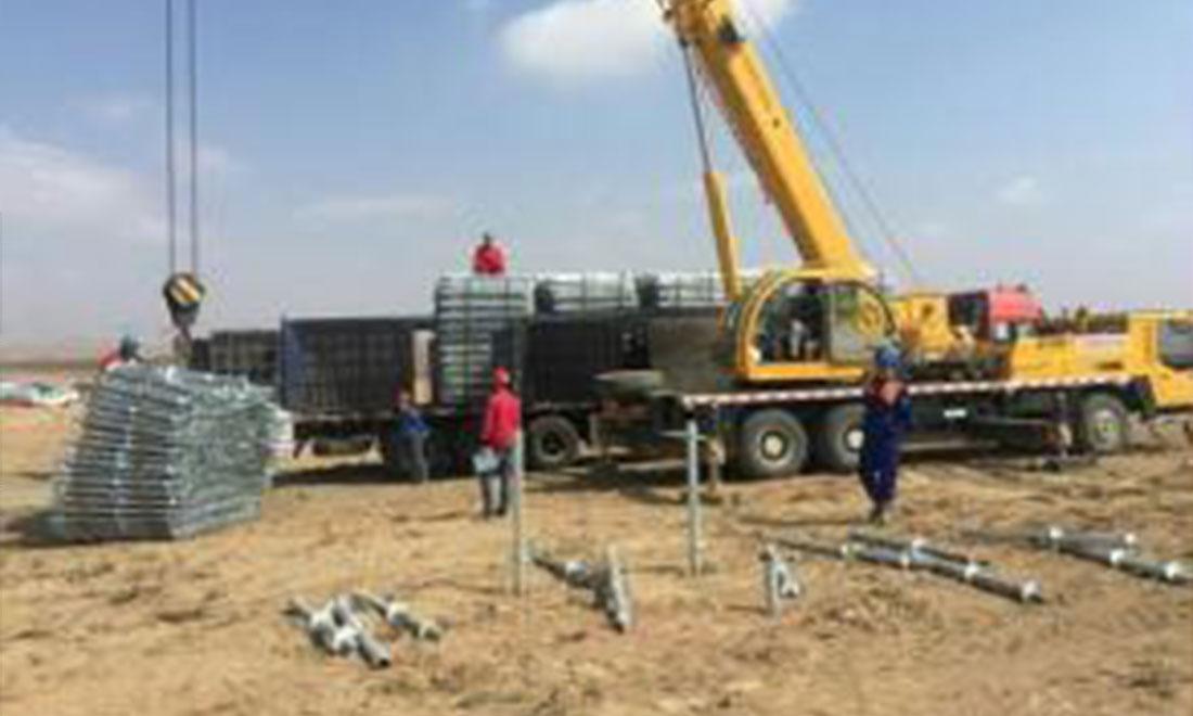Ningxia zhongning Shouting water project