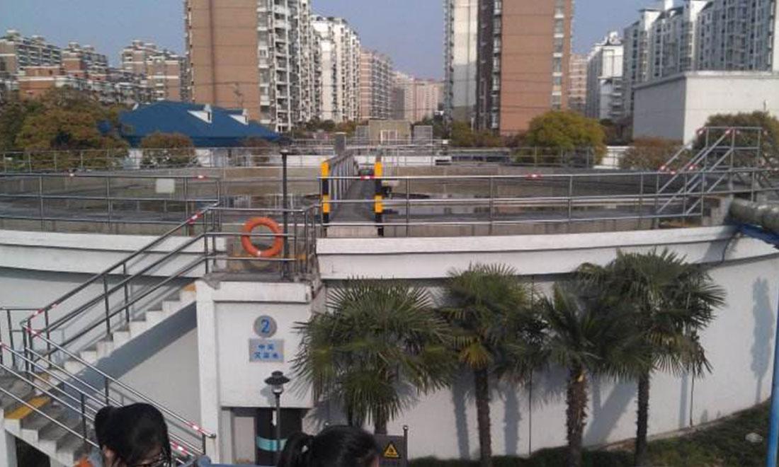 Cơ sở của nhà máy xử lý nước thải ở quận Changning của thành phố Xian - 14 bộ.