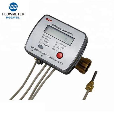 Lỏng chảy Đo Device siêu âm nhiệt Meter