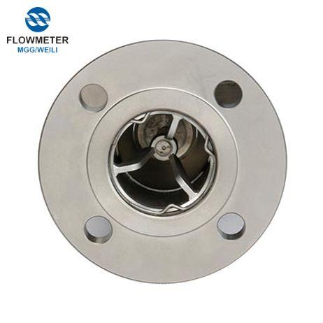 Hart Intelligent Variable-Diện tích kim loại ống Rotameter nước Flow Meter