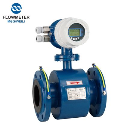 DN65 Calibre nước thải Cơ Acid lỏng Flow Meter